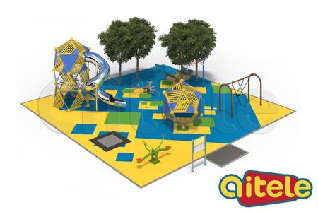 Детская площадка 225м2
