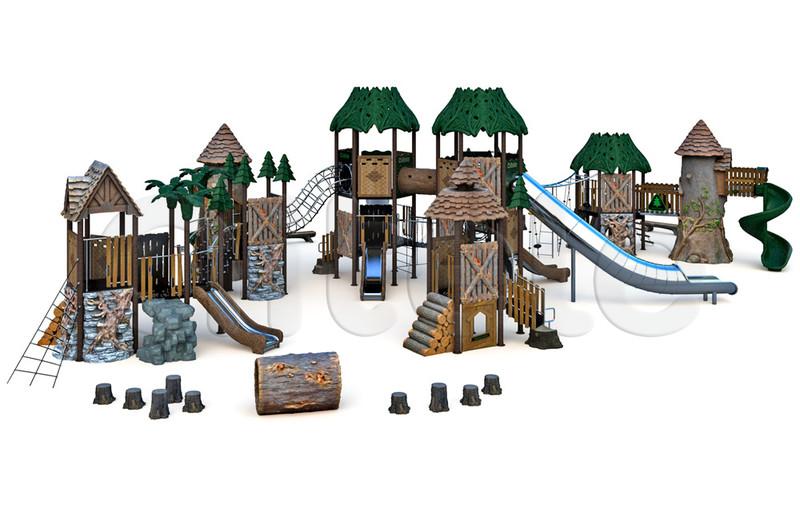 Детский игровой комплекс RN-01201