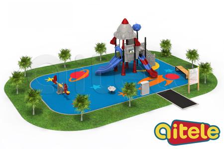 Детская площадка 96м2