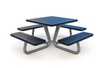 Стол со скамьями PAC-23603