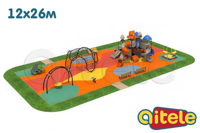 Детская площадка 312м2