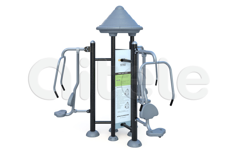 Тренажер тройной Жим от груди FS-24203