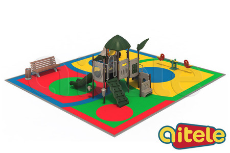 Детская площадка 110м2