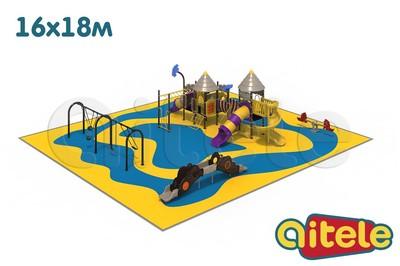 Детская площадка 288м2